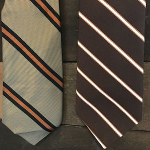 (3 for $20) Set of 2 Men's Clip-on Ties
